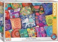 Indian Pillows - 1000 Pieces |Yorkshire Jigsaw Store